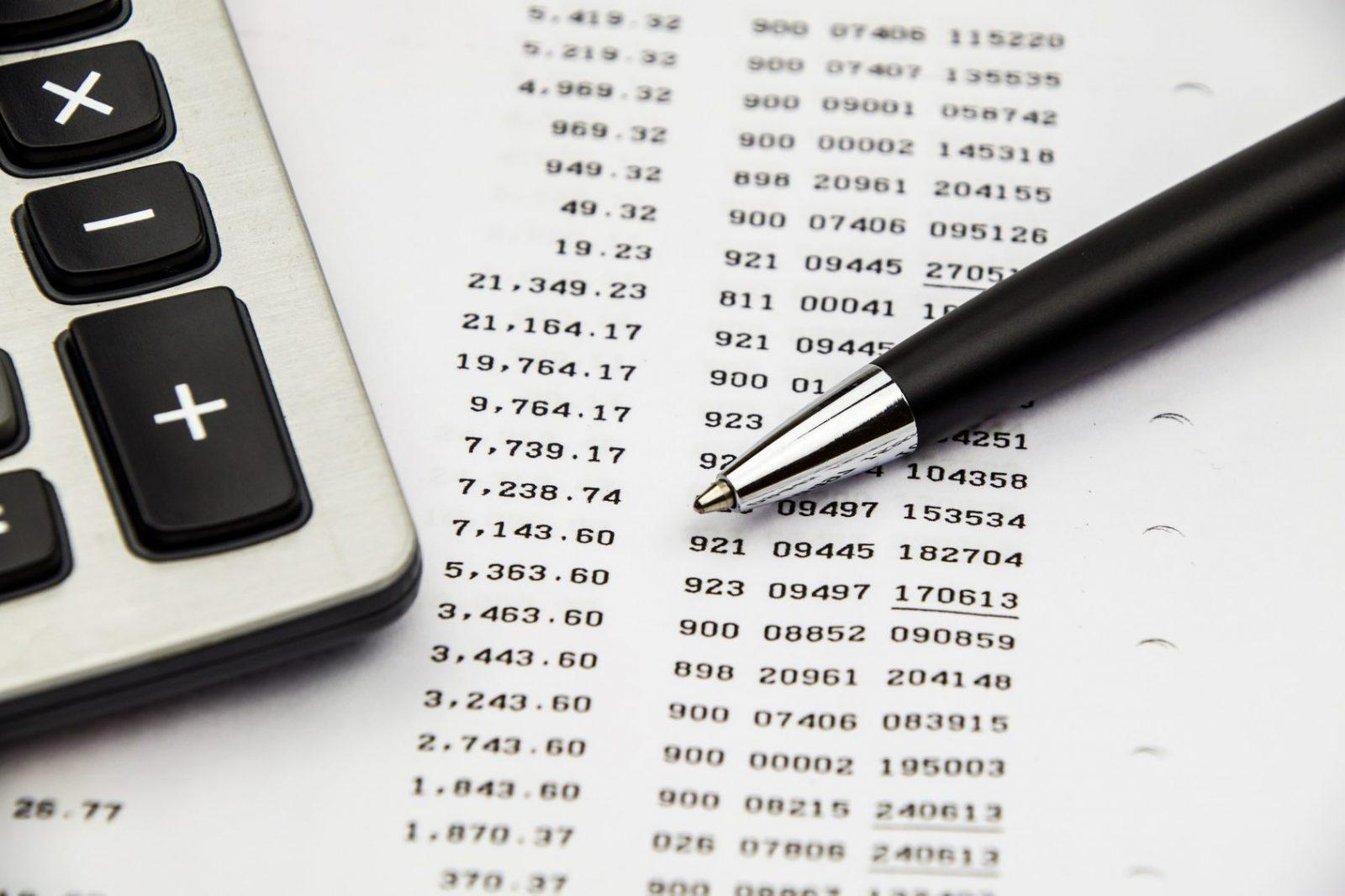 Listado de gastos